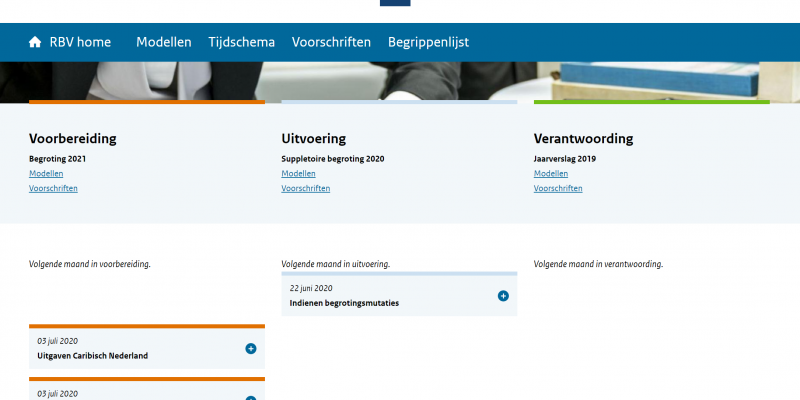 Screenshot van RBV